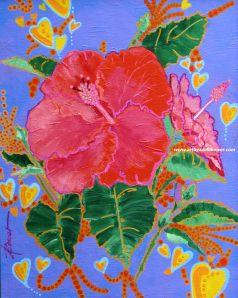 Hibiscus Motif