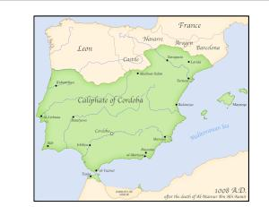 Caliphate of Cordoba, Spain