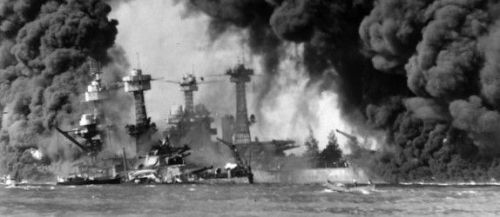 Pearl Harbor Bombed 1941
